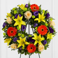 Rays of Solace Wreath