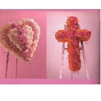 Pink Heart & Pink Cross