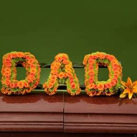 Dad or Mom Casket Spray Available in Many