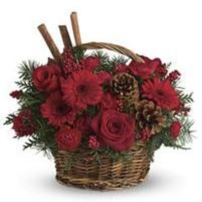 Cinnamon Pine Basket