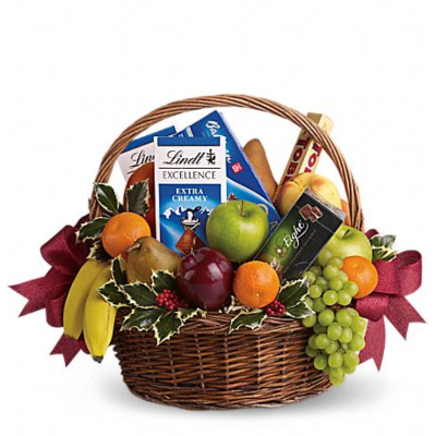 Overflowing Gourmet Basket