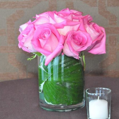 Cute Pink Centerpiece