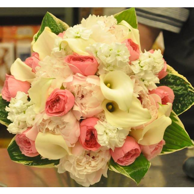 White & Pink Bouquet