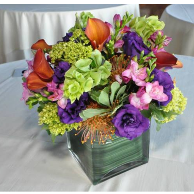 Hot Colors Centerpiece