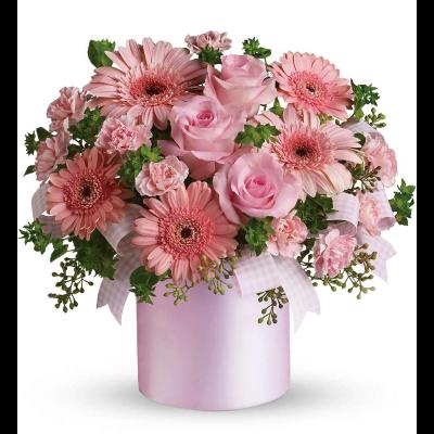 Superior florist ltd flowers pink pretty bouquet mightylinksfo