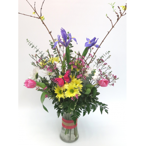 KD-615 Cheerful Spring Vase