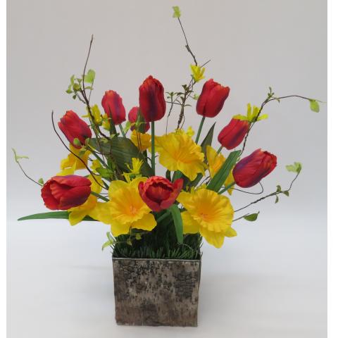 KS-79 Silk Tulips and Daffodils