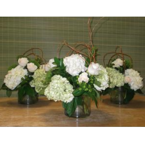 Uptown Hydrangea and Roses
