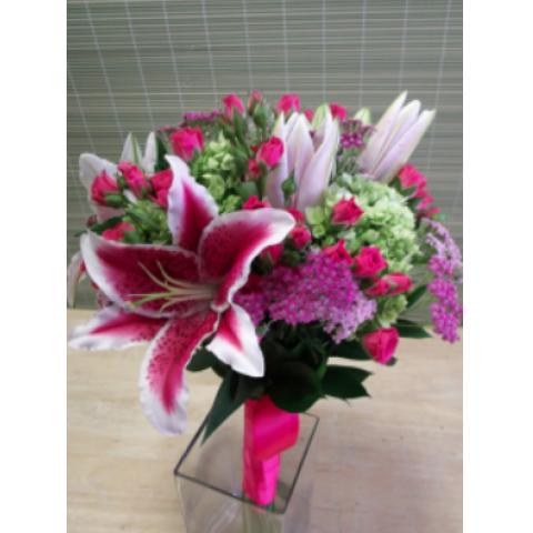 Uptown Blossoms Vibrant Bride