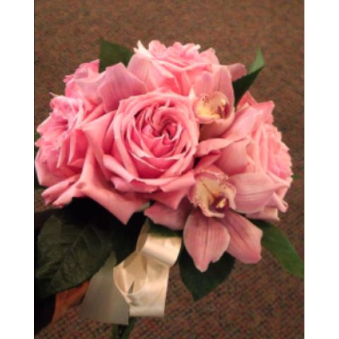 Uptown Blossoms Garden Rose Bride