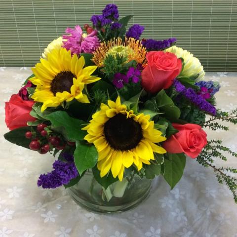Uptown Sunflower Bright Mix