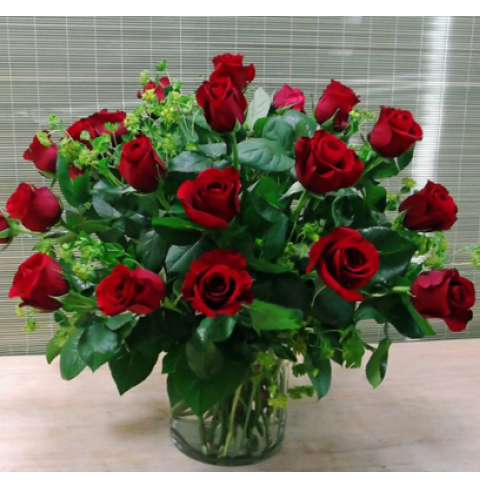 Uptown Modern 2 Dozen Roses