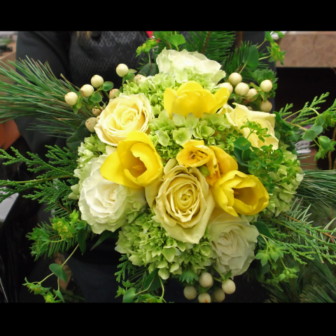 CUSTOM BRIDAL BOUQUET E