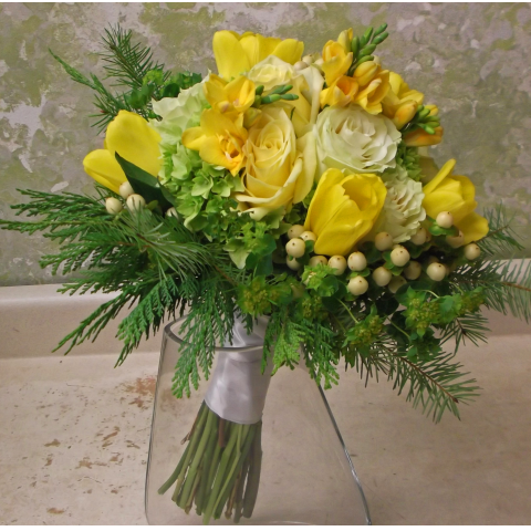 CUSTOM BRIDAL BOUQUET F