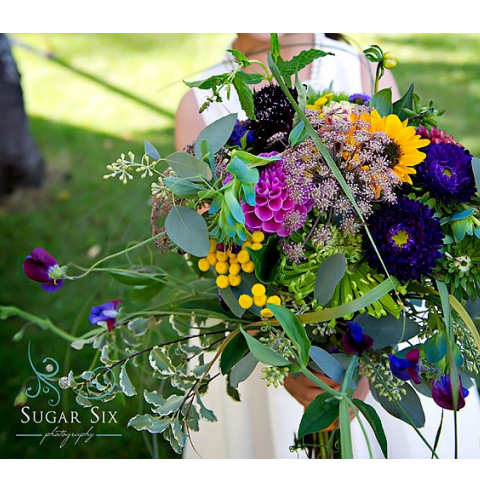 CUSTOM BRIDAL BOUQUET G