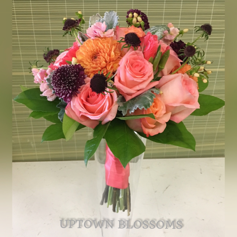 CUSTOM BRIDAL BOUQUET-I