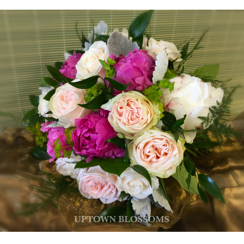 CUSTOM BRIDAL BOUQUET-K