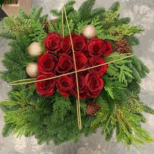 Wreath centerpiece combo