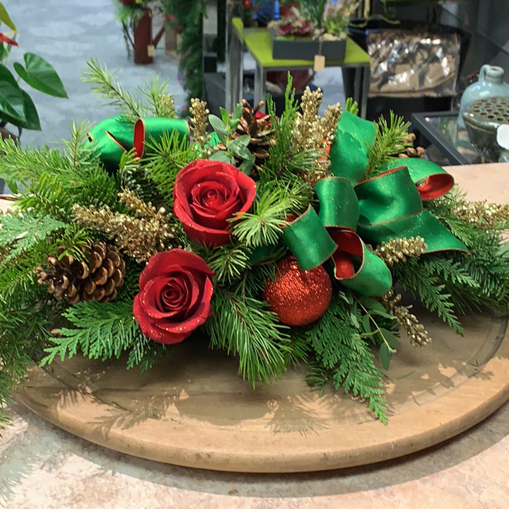 Uptown Holiday Centerpiece