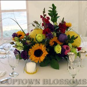 Uptown Blossoms Centerpiece a