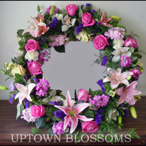 Uptown Fresh Wreath