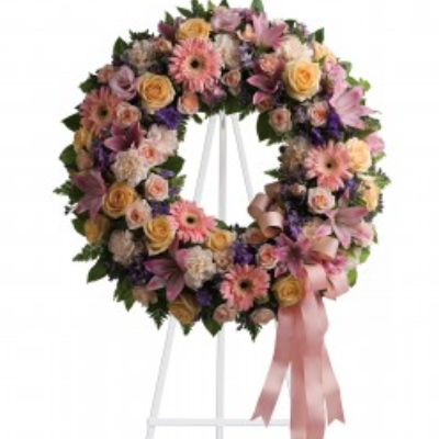 Beaverton Florists Beaverton - This collection of pastel roses, Gerbera daisy, and seasonal pastel color flowers is the right touch to a wonderful life.