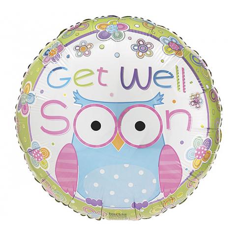 Get Well Soon Owl