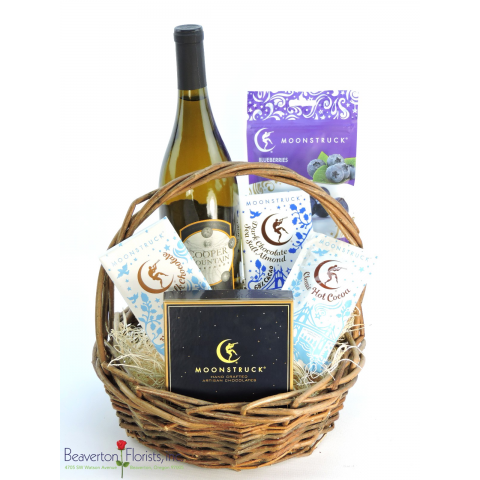 Chocoholic Wine Basket