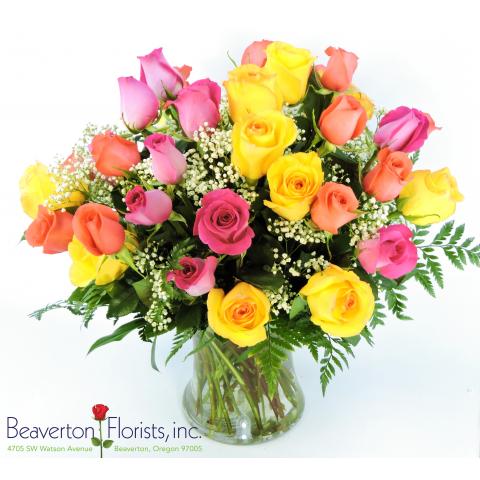 3 Dozen Medium Stem Roses