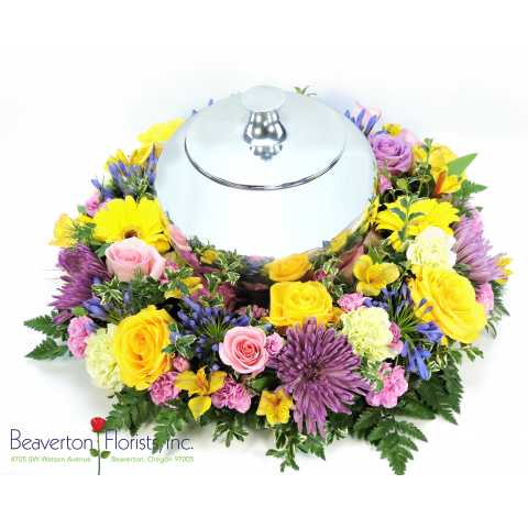 Loving Embrace Urn Surround
