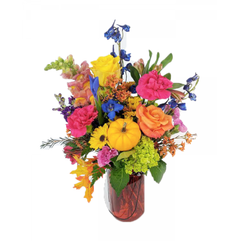 Vibrant Fall Bouquet
