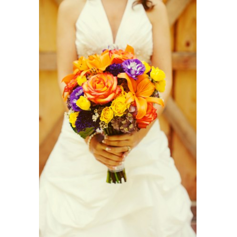 Beaverton Florists Beaverton - Fall wedding bouquet
