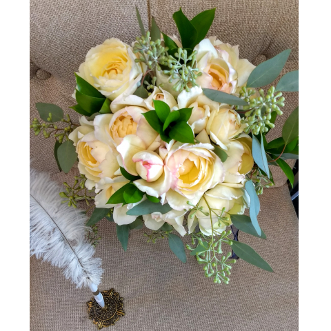 Beaverton Florists Beaverton - Amazing local garden roses bouquet