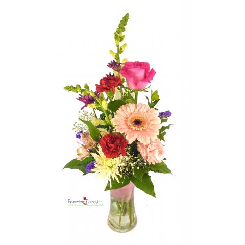Love Swirl Vase