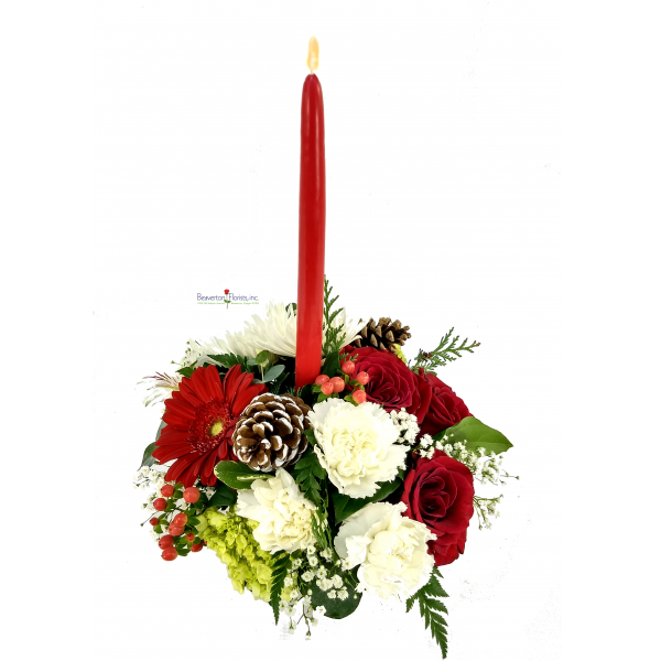 Holiday's Compact Centerpiece