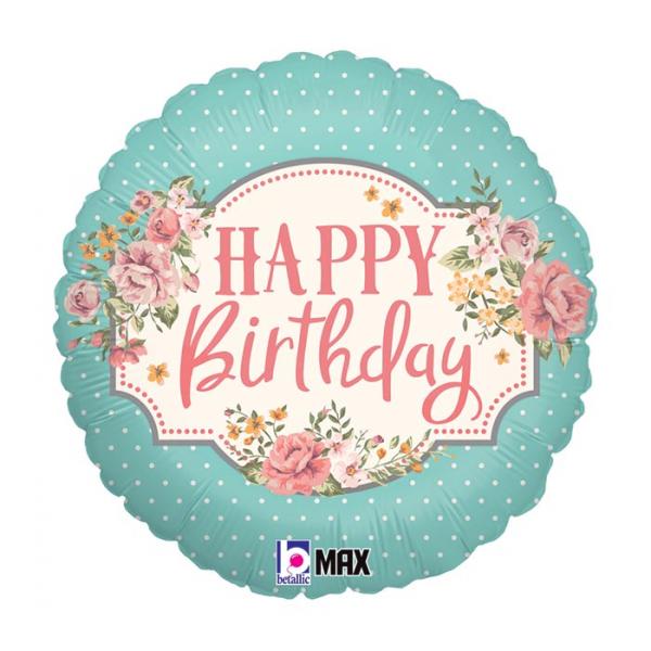Mylar Happy Birthday
