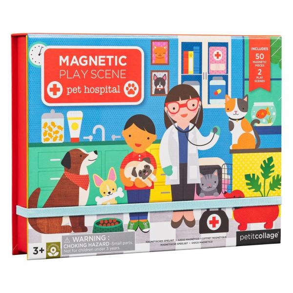 Veterinarian Magnetic Play Scene