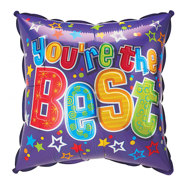 You are the best Mylar Balloon