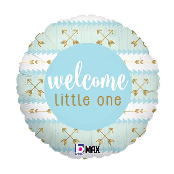 Welcome Little One Blue