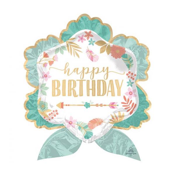 Happy Birthday balloon Extra Large