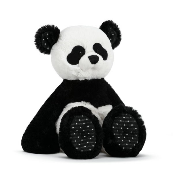 Beaverton Florists Beaverton - Pita the Panda Plush is a great gift for any child who could use a snuggler and a friend. As part of the Black and White Collection, this cuddly friend also encourages brain stimulation. Made of soft polyester knit in a black and white pattern with polka dot accented feet and eyes and a satin thread nose.