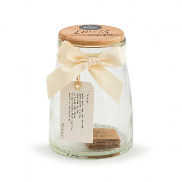 Beaverton Florists Beaverton - The beautiful Dear You Jar in Dear Us is a wonderful present for any new parents. This beautiful bubble jar features a wooden top and is filled with pre-written notes about the importance of their relationship and their love, even before the addition of their new little one.