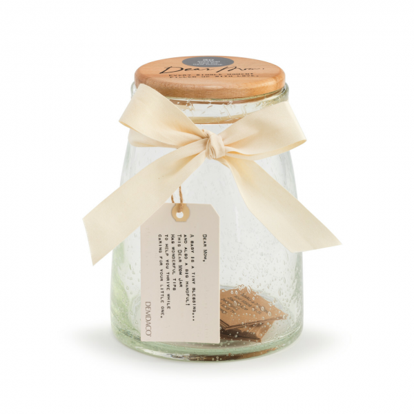 Beaverton Florists Beaverton - The lovely Dear You Jar in Mom is a wonderful present for any mom or mom to be. This bubble glass jar is filled with pre-written notes and features a natural wooden top with a special hangtag that includes sentiments about the joys of being a mother.