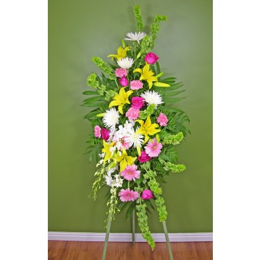 Beaverton Florists Beaverton - Memories will be cherished when these bright colors of yellow, pink, green and whites.