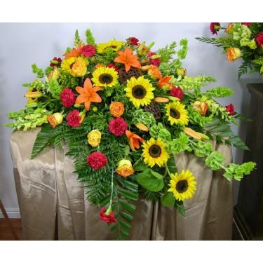 Beaverton Florists Beaverton - The Field of Dreams Casket Spray will honor a mans casket  and life.