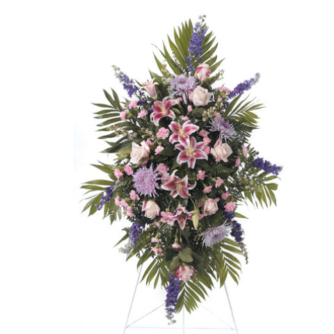 Lavenders and Pinks Standing Spray CTT 60-11