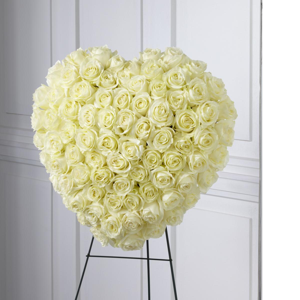 FTD® Elegant Remembrance™ Standing Heart