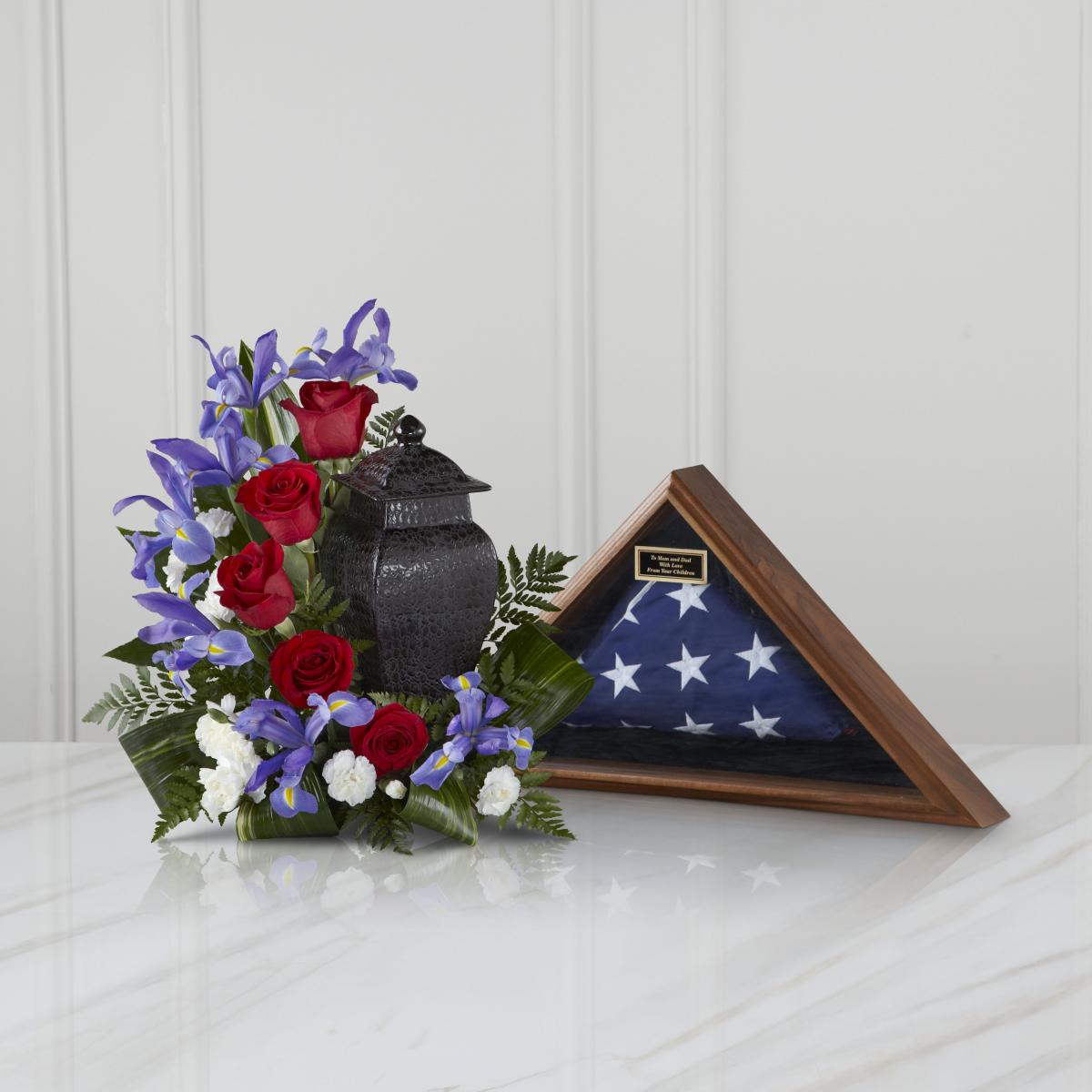 FTD® Patriotic Tribute™ Arrangement