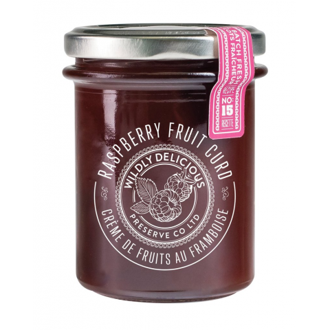 Wildly Delicious Raspberry Fruit Curd