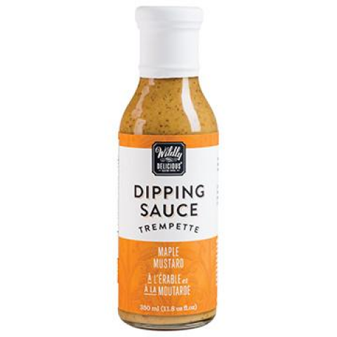 Wildly Delicious Maple Mustard Dipping Sauce 11.8 oz.
